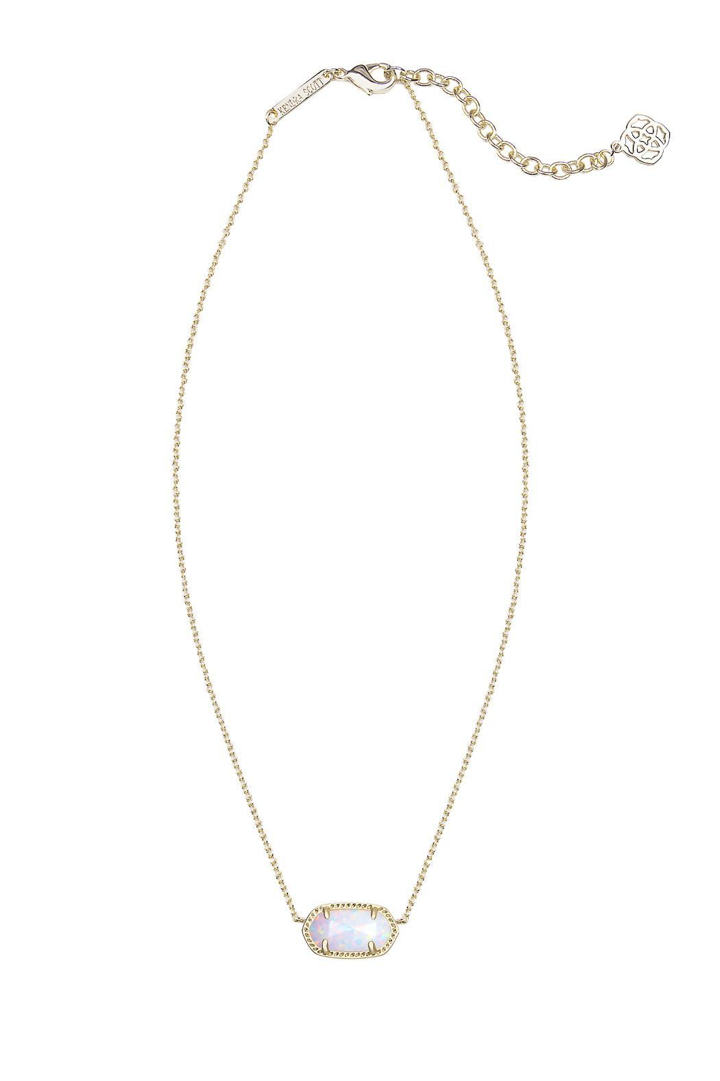 Kendra Scott Gold Opal Necklace from Florida by The Pink ...