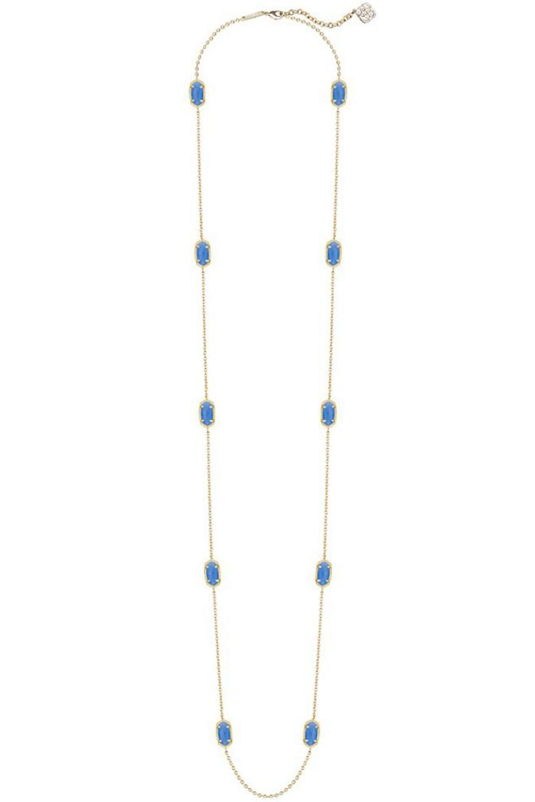 Kendra Scott Kellie Periwinkle Necklace - Front Cropped Image