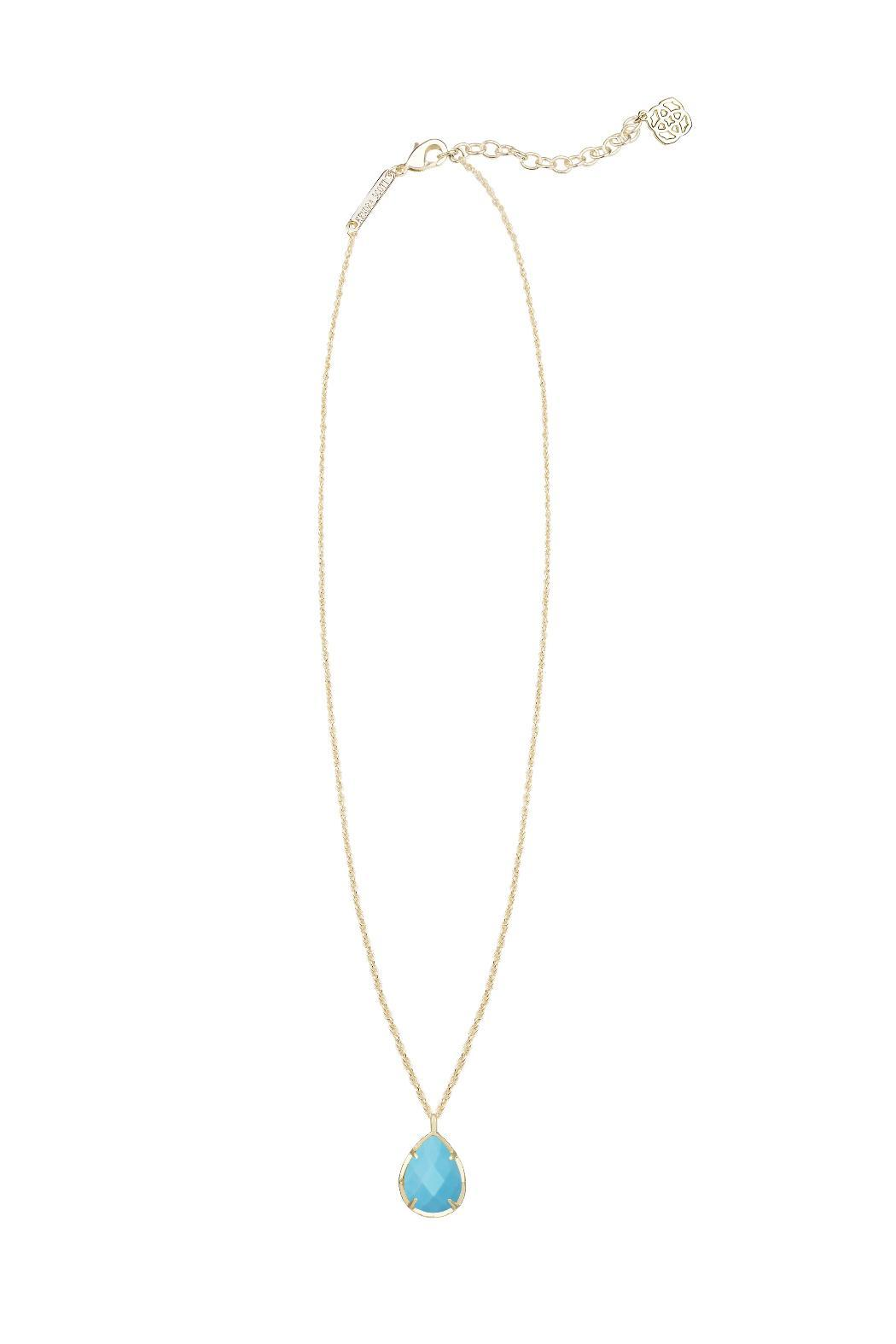 Kendra Scott Kiri Gold Necklace - Front Cropped Image