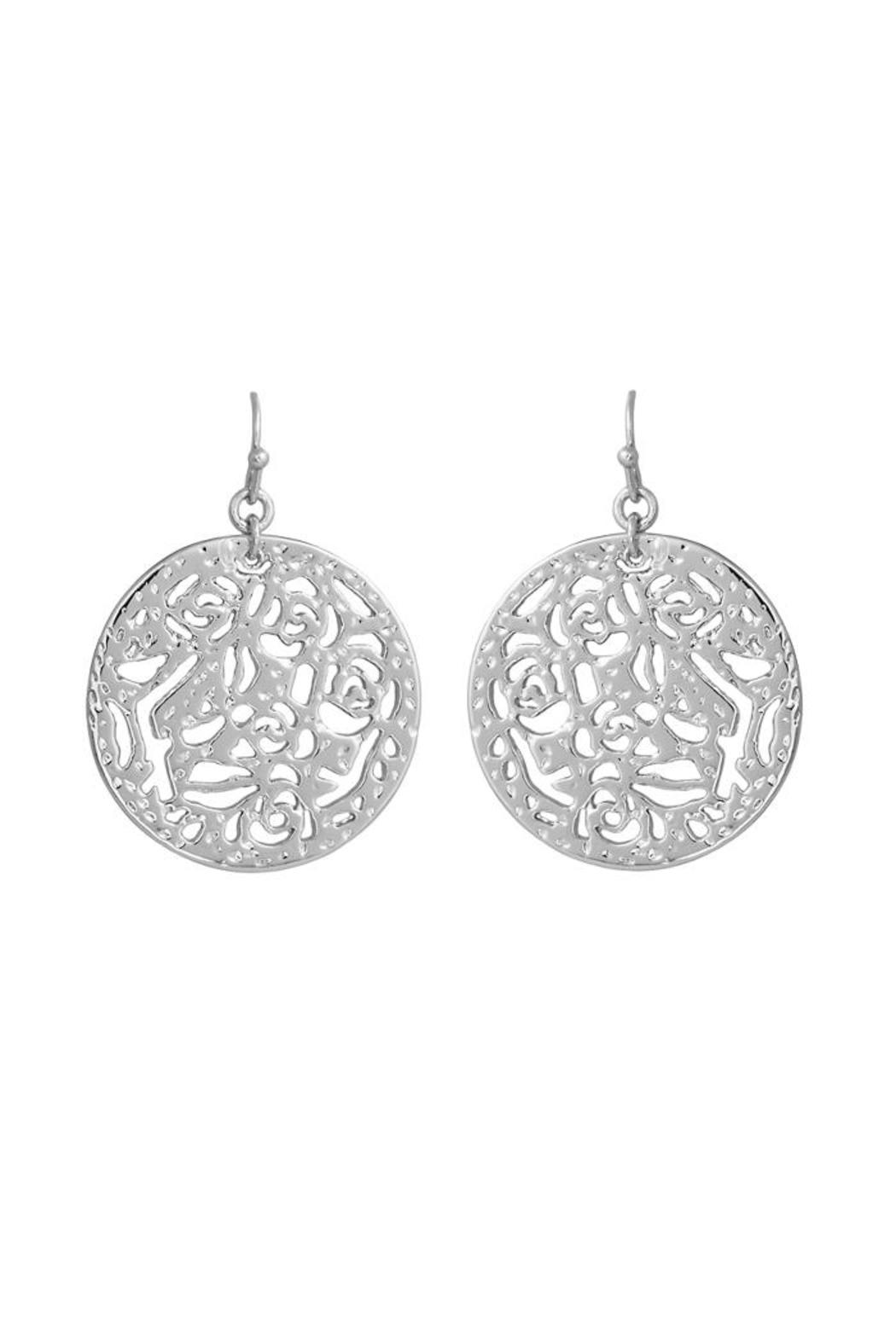Kendra Scott Madina Round Earrings From Lafayette By Brothers On