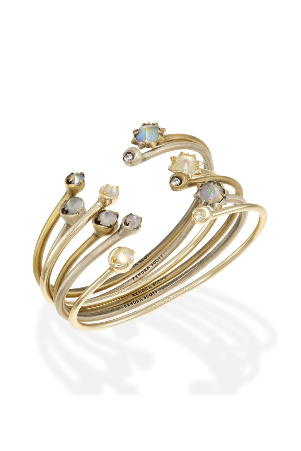 Kendra Scott Mixed Metal Cuff - Main Image