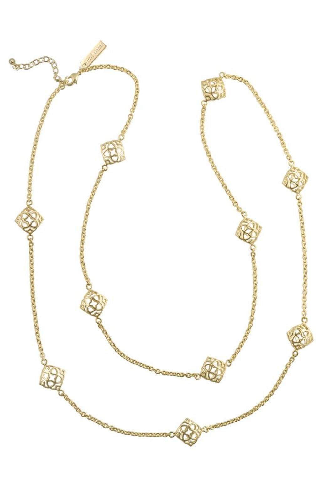 Kendra Scott Nemera Necklace Gold From Mississippi By The