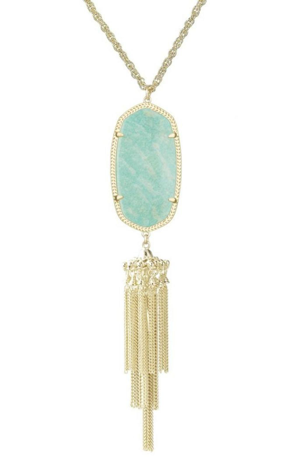 kendra amazonite necklace from atlanta by