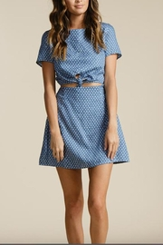 Lucca Kennedi Front-Tie Dress - Product Mini Image