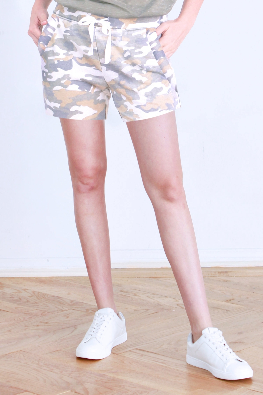 another love  Kennedy Camo Shorts - Main Image