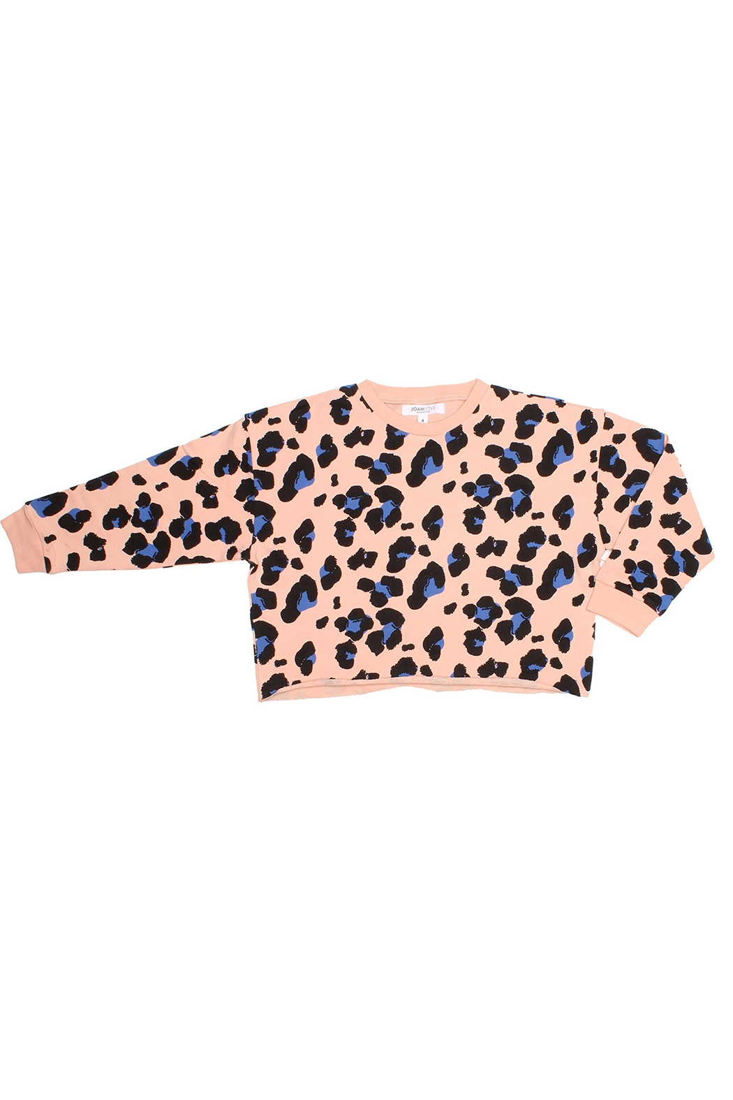 JOAH LOVE Kennedy Cheetah Pullover - Main Image