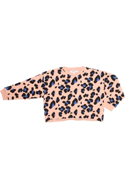 JOAH LOVE Kennedy Cheetah Pullover - Front cropped