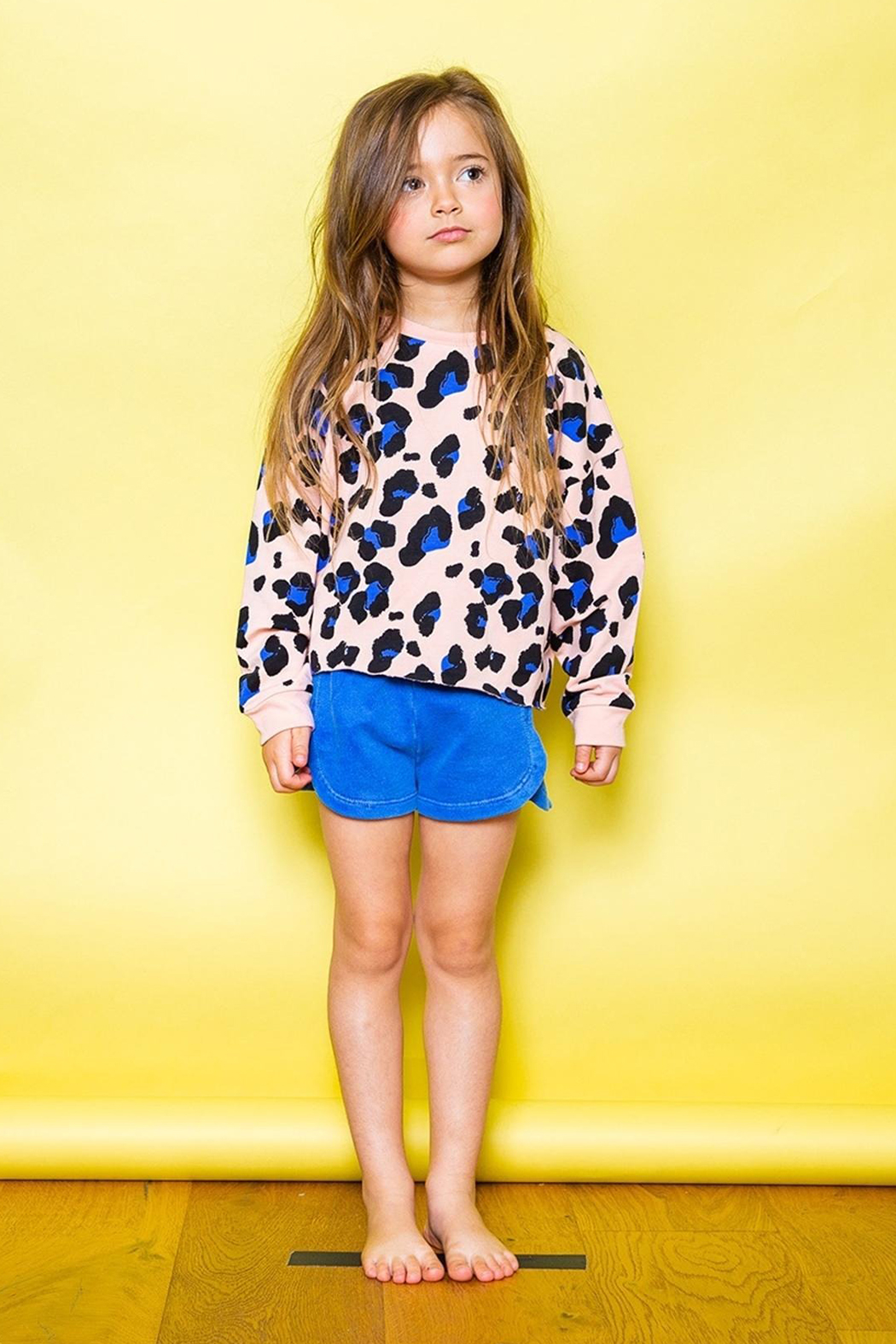 JOAH LOVE Kennedy Cheetah Pullover - Side Cropped Image