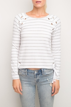 Shoptiques Product: Kennedy Eyelets Top