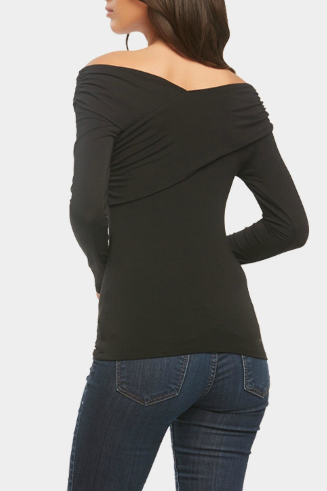 Tart Collections Kennedy Off-Shoulder Top - Side Cropped Image