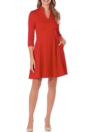 Jude Connally Kennedy Ponte Dress - Product Mini Image