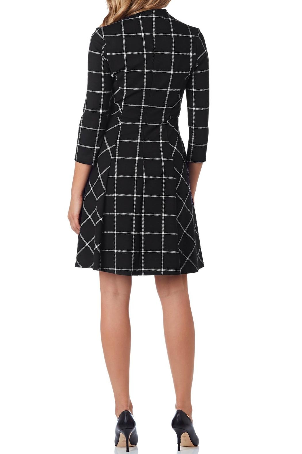 Jude Connally Kennedy Ponte Dress - Front Full Image