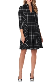 Jude Connally Kennedy Ponte Dress - Front cropped