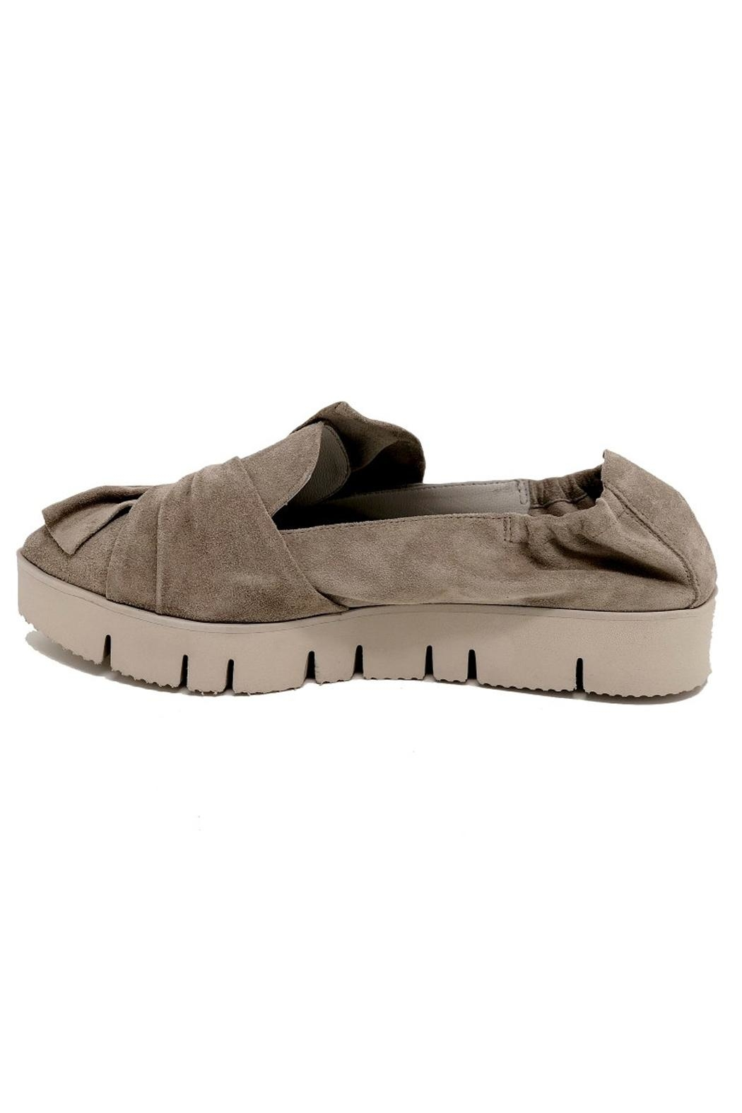 Kennel & Schmenger Bow Suede Sneaker - Front Full Image