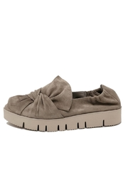 Kennel & Schmenger Bow Suede Sneaker - Front cropped