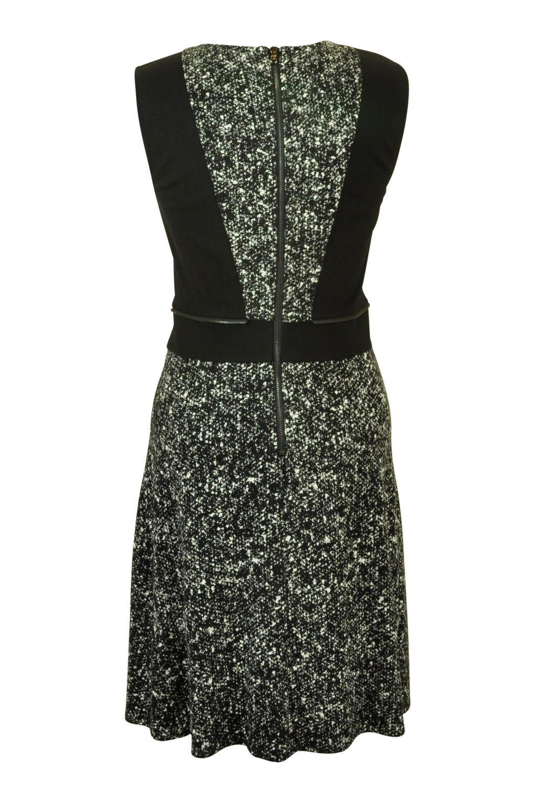 Kenneth Cole New York Fleck  Print Dress - Front Full Image