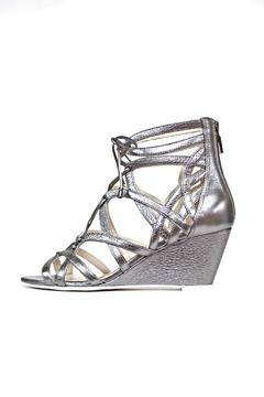 Kenneth Cole New York Pewter Gladiator Wedge - Product List Image