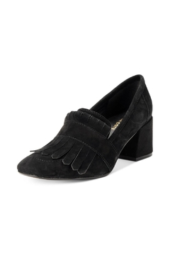 Shoptiques Product: Suede Kilted Heel