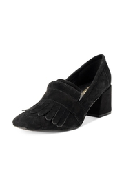 Kenneth Cole New York Suede Kilted Heel - Front cropped