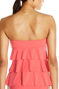 Kenneth Cole Reaction Ruffle-Tiered Tankini Top - Alternate List Image