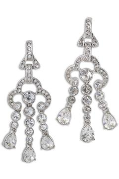 Kenneth Jay Lane Crystal Drop Earrings - Product List Image