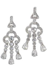 Kenneth Jay Lane Crystal Drop Earrings - Product Mini Image