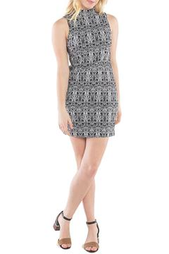 Kensie Aztec Stretch Dress - Product List Image