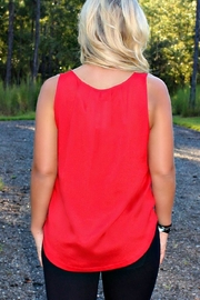 Kensie Light Weight Tank - Side cropped