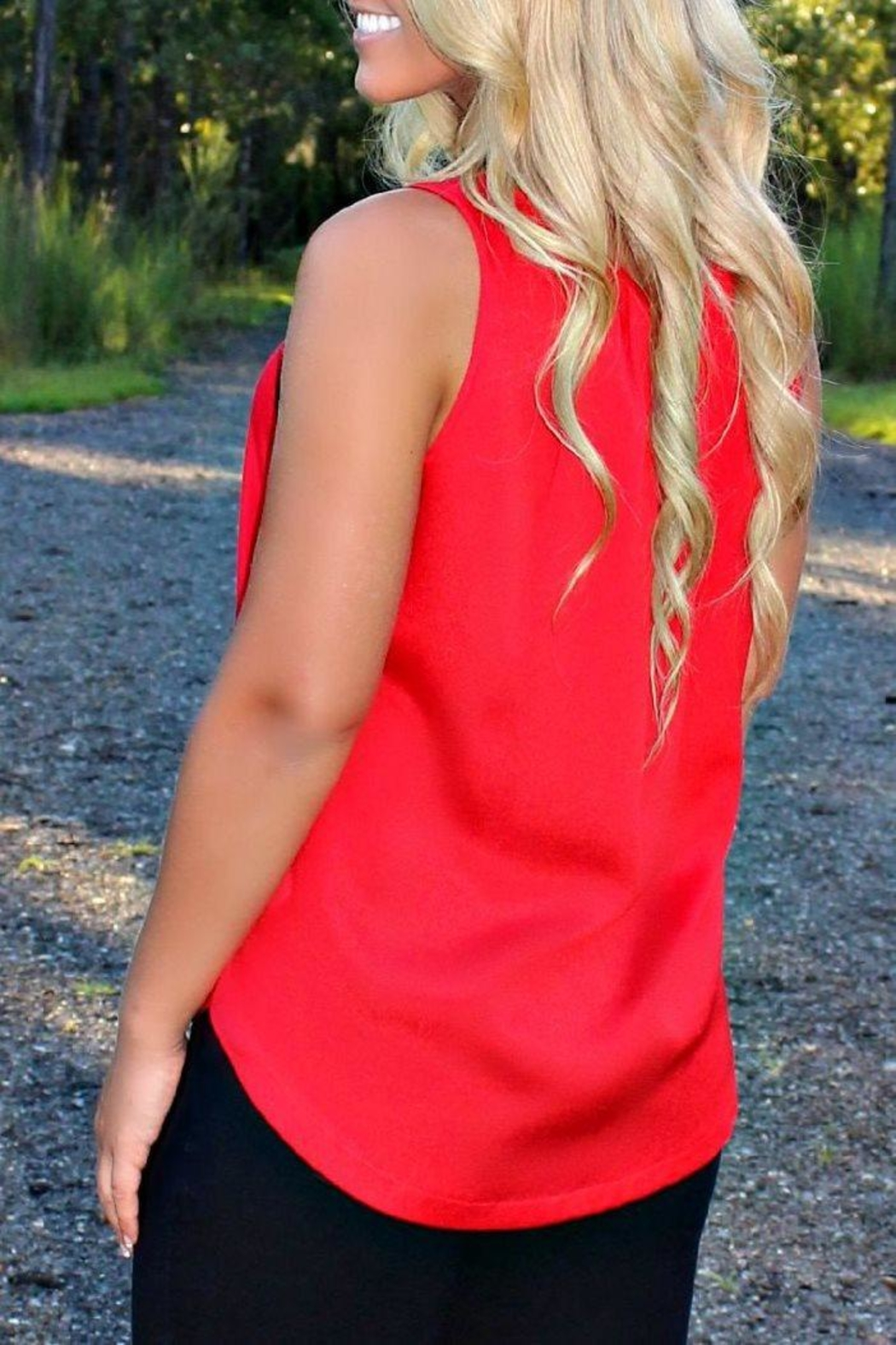 Kensie Light Weight Tank - Front Full Image