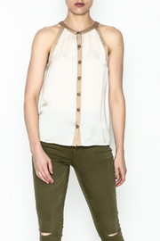 Kensie Matteford Chiffon Top - Product Mini Image