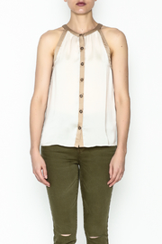 Kensie Matteford Chiffon Top - Front full body