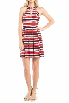 Kensie Sandbox Stripe Dress - Product List Image