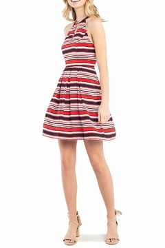 Kensie Sandbox Stripe Dress - Alternate List Image