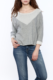 Kensie Grey Sara Sweatshirt - Product Mini Image