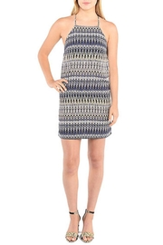 Kensie Strappy Patterned Shift Dress - Product Mini Image