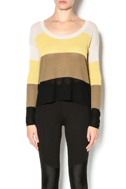 Kensie Striped Lightweight Sweater - Product Mini Image