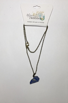 Gleeful Peacock Kentucky State Necklace - Alternate List Image