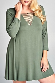 Emerald Kenzie Olive Tunic - Product Mini Image