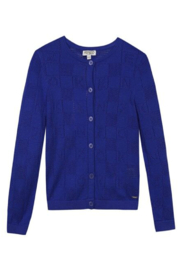 Kenzo 14Y Bony Letter Cardigan - Front cropped