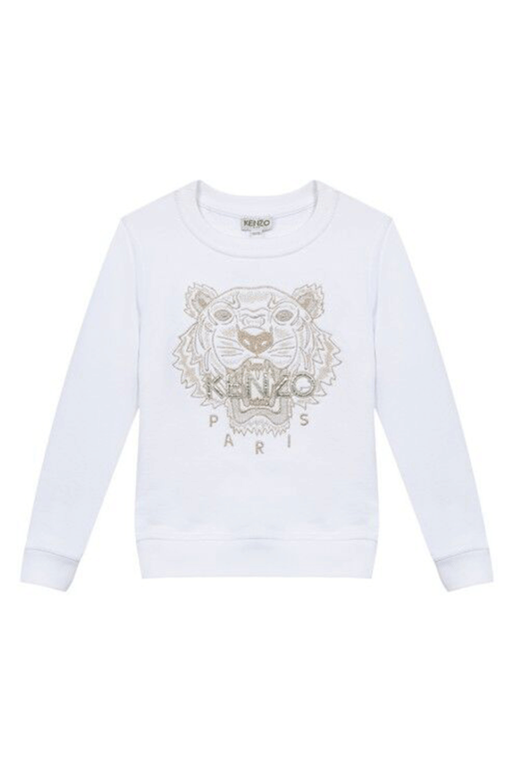 Kenzo 14Y Tiger Paris Sweater - Front Cropped Image