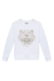 Kenzo 14Y Tiger Paris Sweater - Front cropped