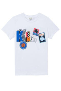 Kenzo 2-6Y Bond Feline T-shirt - Alternate List Image