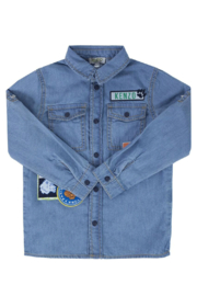 Kenzo 2-6Y Fancy Patches Shirt - Front cropped