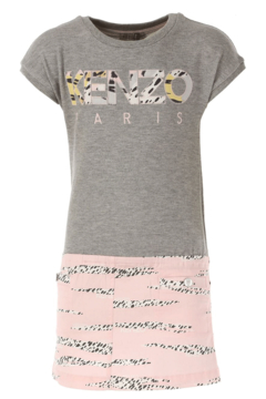 Kenzo 2-6Y Jackie Stripe Dress - Alternate List Image