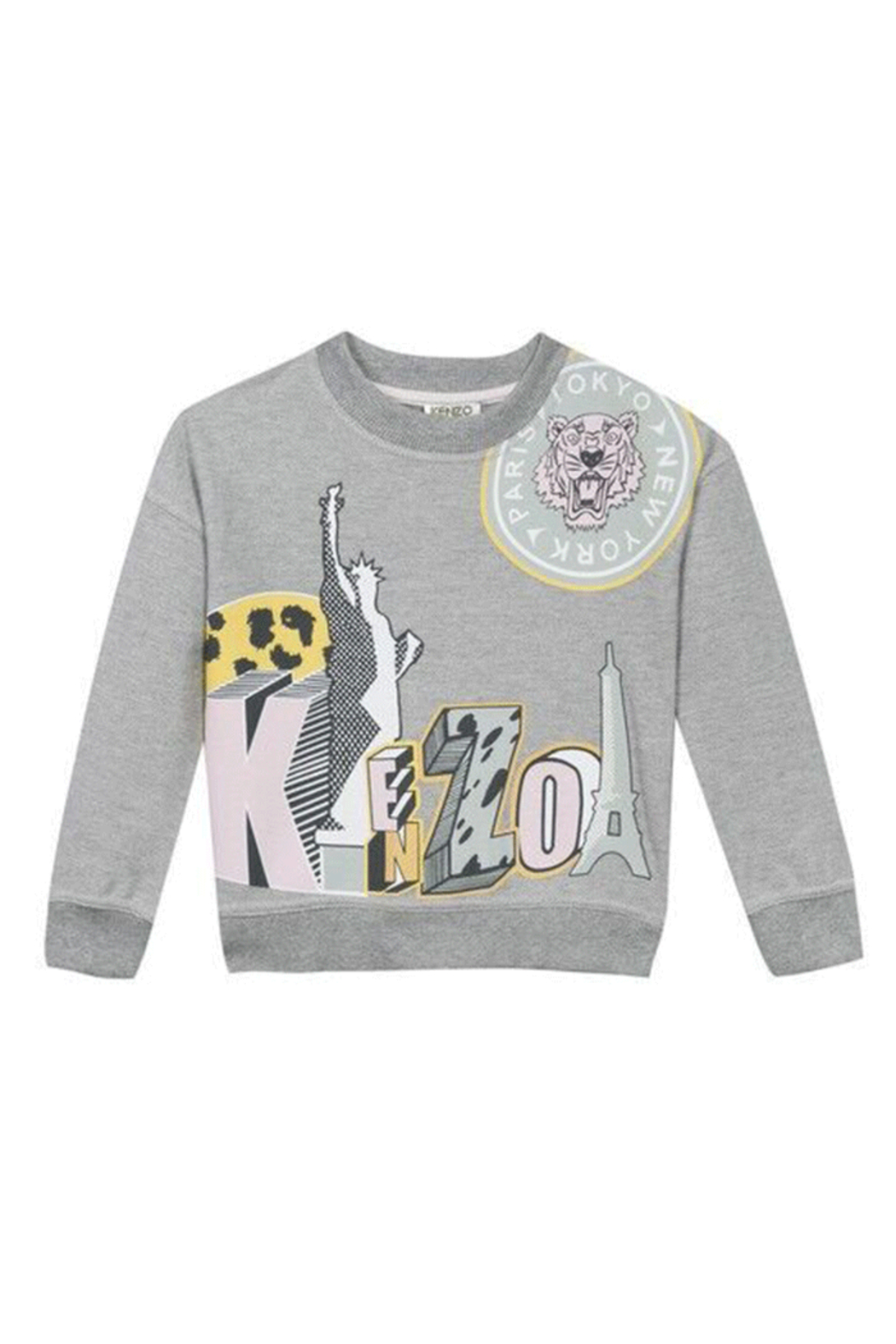 Kenzo 3-6Y Andi Cities Sweater - Front Cropped Image