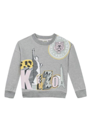 Kenzo 3-6Y Andi Cities Sweater - Front cropped