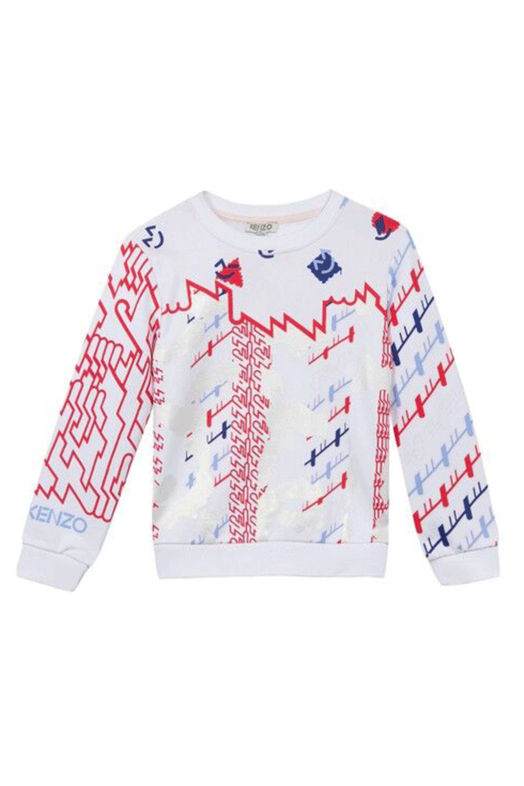 Kenzo 3-6Y Barbapapa Abstract Sweater - Main Image