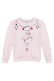 Kenzo 4-6Y Kristen Necklace Sweater - Product Mini Image