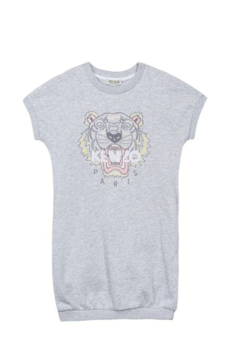 Kenzo 4-6Y Tiger Dress - Alternate List Image
