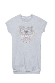 Kenzo 4-6Y Tiger Dress - Front cropped